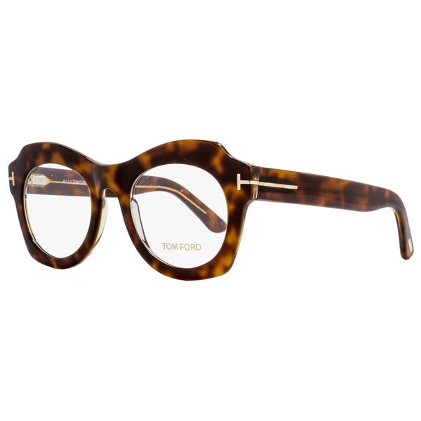 71b59991708 Shop Tom Ford TF5360 056 Womens Brown 49 mm Eyeglasses - Free Shipping  Today - Overstock - 15434467