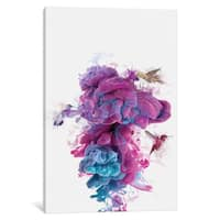 iCanvas 'Hummingbirds Ink' by Dániel Taylor Canvas Print