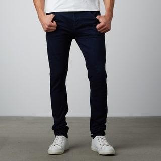 Men's Slim Fit Black Stretch Denim