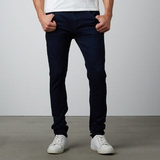 Men's Slim Fit Black Stretch Denim