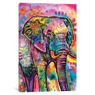 iCanvas 'Elephant II' by Dean Russo Canvas Print