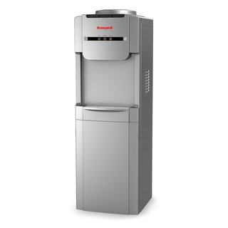 Honeywell HWB1073S Freestanding Hot, Cold & Room Water Dispenser with Stainless Steel Tank, Silver