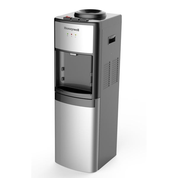 Honeywell HWB1083S 41 in. Commercial Grade Hot, Cold and Room Temperature Water Dispenser, Silver