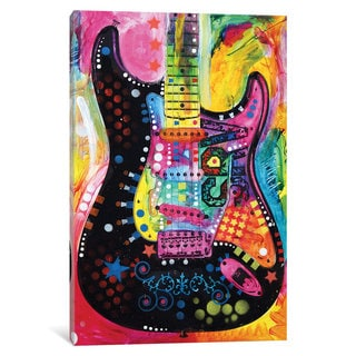 iCanvas Lenny Strat by Dean Russo Canvas Print