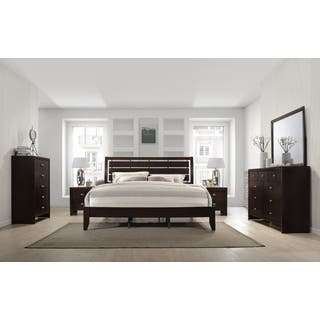 Buy Cherry Finish, Wood Bedroom Sets Online at Overstock.com | Our ...