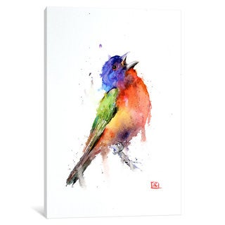 iCanvas 'Bird (Multi-Colored)' by Dean Crouser Canvas Print