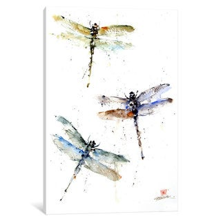 iCanvas 'Dragonflies' by Dean Crouser Canvas Print