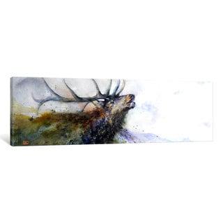 iCanvas 'Elk II' by Dean Crouser Canvas Print