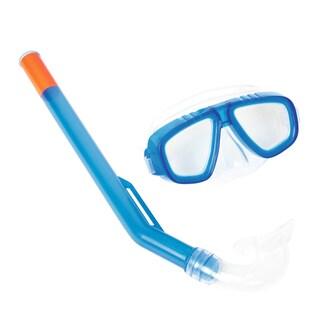 Blue Hydro-Splash FunDive Mask and Snorkel Set