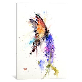 iCanvas 'Butterfly II' by Dean Crouser Canvas Print