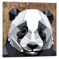 iCanvas 'Panda' by DAAS Canvas Print