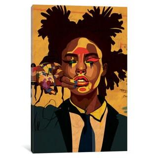 iCanvas 'Painter Girl' by Dai Chris Art Canvas Print