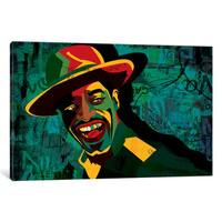 iCanvas Andre 3000 by Dai Chris Art Canvas Print