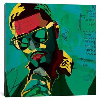 iCanvas 'J. Cole' by Dai Chris Art Canvas Print
