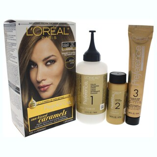 L'Oreal Paris Superior Preference Hi-Lift Color And Shine System UL61 Hi-Lift Ash Brown