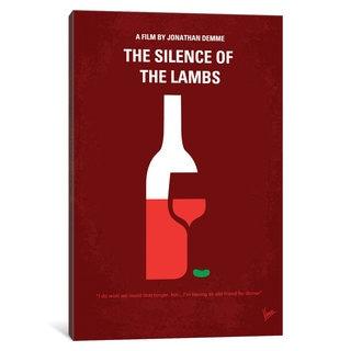 iCanvas 'Silence Of The Lambs Minimal Movie Poster' by Chungkong Canvas Print