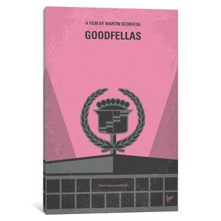iCanvas 'Goodfellas Minimal Movie Poster' by Chungkong Canvas Print