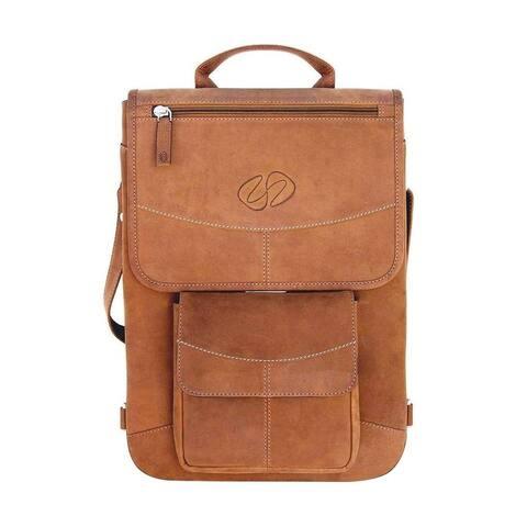 "MacCase 13"" Premium Leather MacBook Pro Case - Flight Jacket"