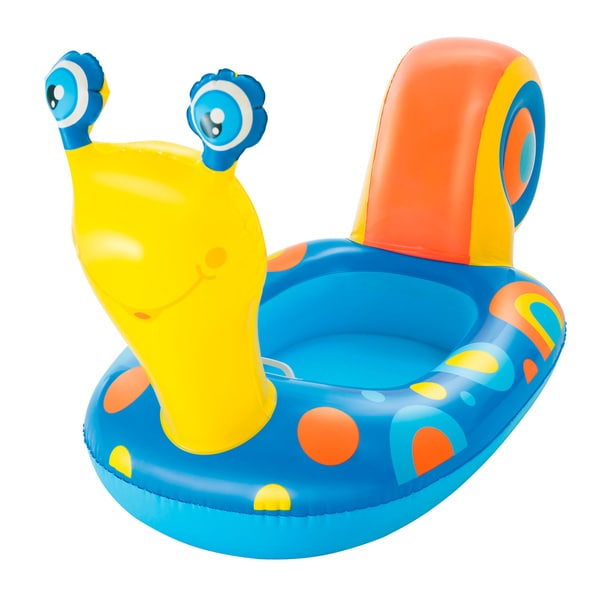 H2OGO 64 Inch Yellow Baby Snail Boat