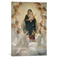iCanvas 'The Virgin with Angels, 1900 ' by William-Adolphe Bouguereau Canvas Print