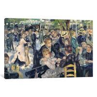 iCanvas 'Ball at the Moulin de la Galette, 1876 ' by Pierre-Auguste Renoir Canvas Print