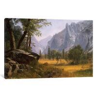 iCanvas 'Yosemite Valley ' by Albert Bierstadt Canvas Print