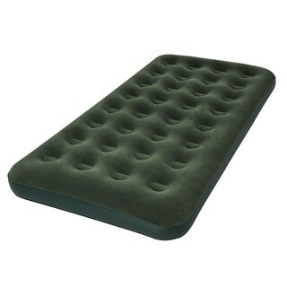 Bestway 74 Inch Twin Flocked Air Bed with D Cell Pump