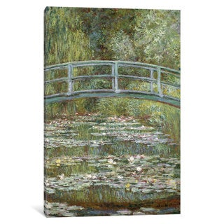 iCanvas 'The Water-Lily Pond, 1899 ' by Claude Monet Canvas Print