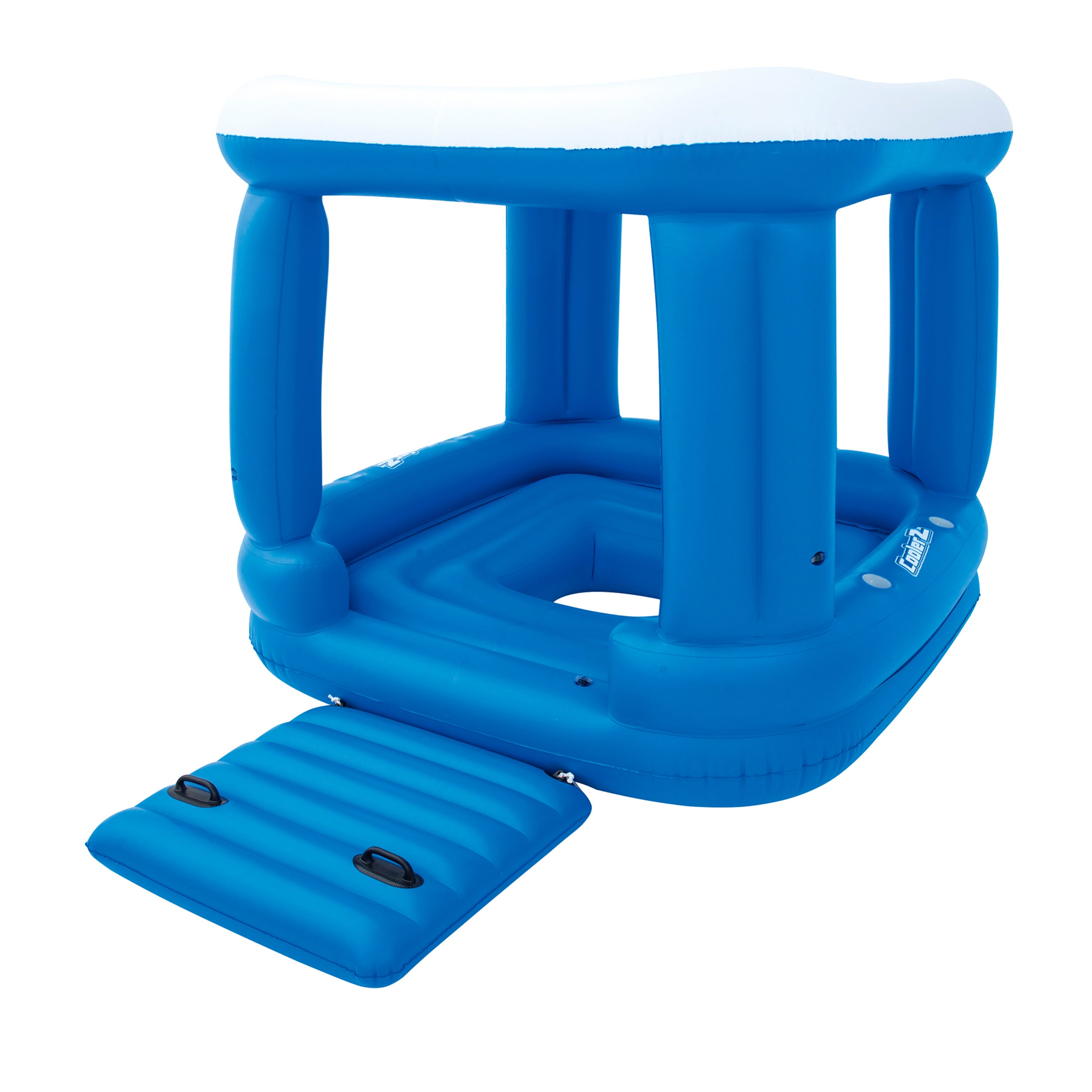 Bestway Coolerz 7.2 Foot Lazy Dayz Kube (1), Blue