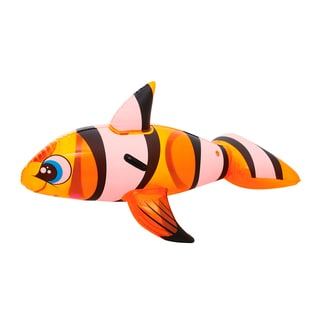 Bestway H2OGO! 62 Inch x 37 Inch Clown Fish Rider