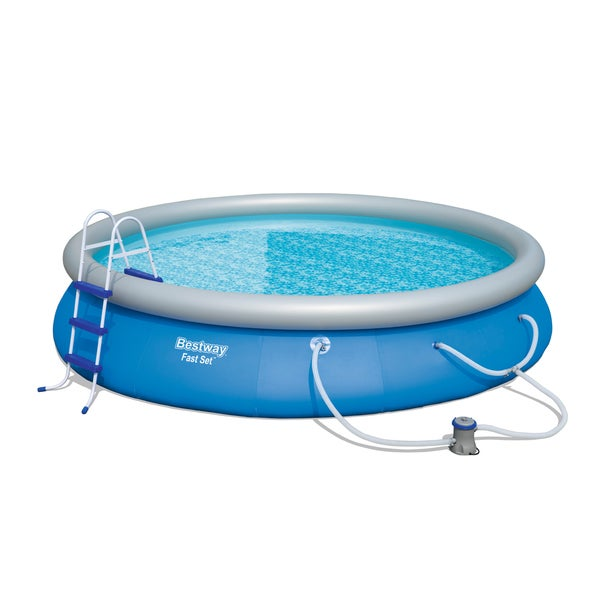 Bestway Fast Set 15 Foot Pool Set