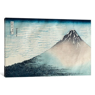 iCanvas ''Fuji in Clear Weather', from the series '36 Views of Mount Fuji' ' by Katsushika Hokusai Canvas Print