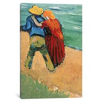 iCanvas 'A Pair of Lovers, Arles, 1888 ' by Vincent van Gogh Canvas Print