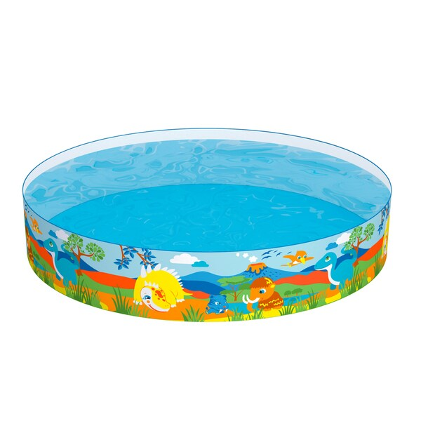 Shop Bestway H2ogo 72 Inch Dinosaurous Fill N Fun Pool