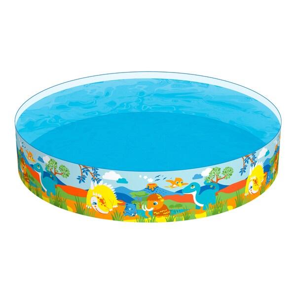 Bestway H2OGO! 8 Foot Dinosaurous Fill 'N Fun Pool