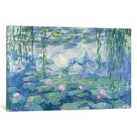 iCanvas 'Waterlilies, 1916-19  ' by Claude Monet Canvas Print
