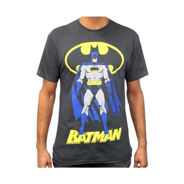 Classic Batman, 100% Cotton Regular Men's T-Shirt