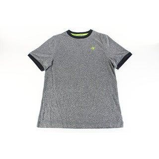 Grey Champion Solid Boy's Top