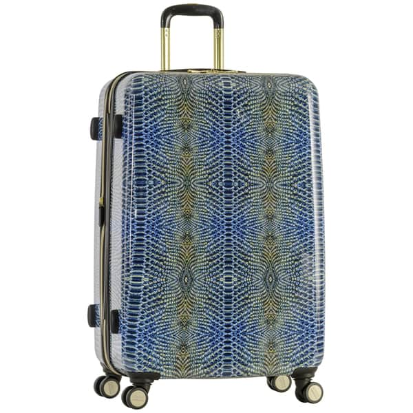 853223f1b Aimee Kestenberg 'Ivy' 28-inch Lightweight Hardside Expandable 8-wheel  Spinner Checked Suitcase with Gold Plated Hardware