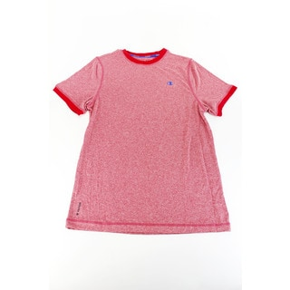 Red Champion Solid Boy's T-Shirt