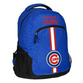 Chicago Cubs MLB Action Stripe Logo Backpack