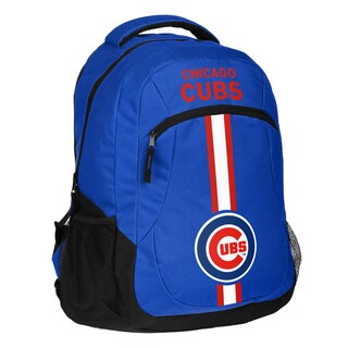 Chicago Cubs MLB Action Stripe Logo Backpack