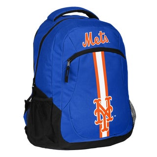 New York Mets MLB Action Stripe Logo Backpack