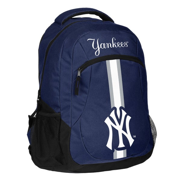 New York Yankees MLB Action Stripe Logo Backpack