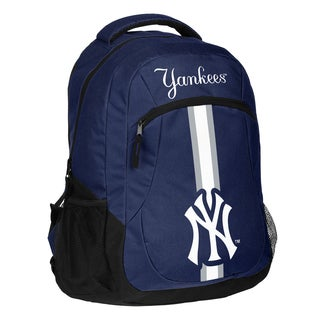 New York Yankees MLB Action Stripe Logo Backpack