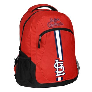 St. Louis Cardinals MLB Action Stripe Logo Backpack