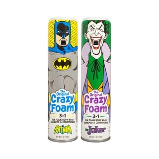 Crazy Foam DC Originals 2 Pk Batman and Joker