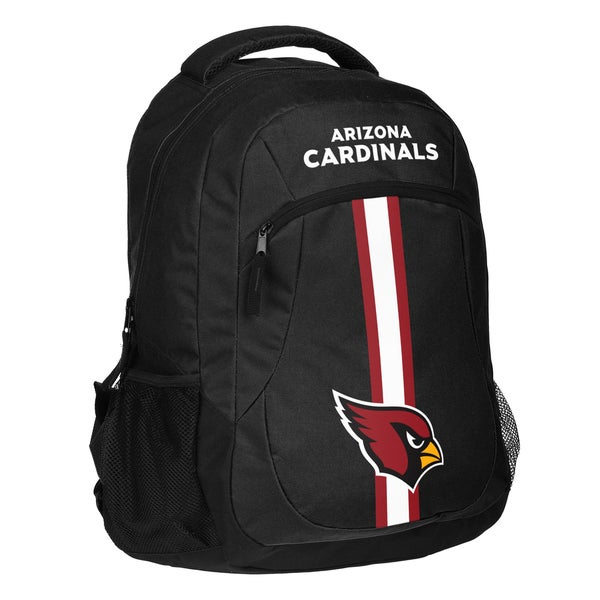 Arizona Cardinals NFL Action Stripe Logo Backpack