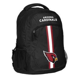Arizona Cardinals NFL Action Stripe Logo Backpack