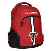 Atlanta Falcons NFL Action Stripe Logo Backpack